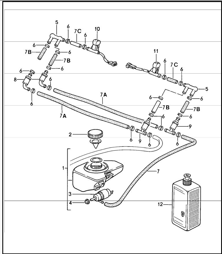 1986 Porsche Flat 6 Engine Diagram