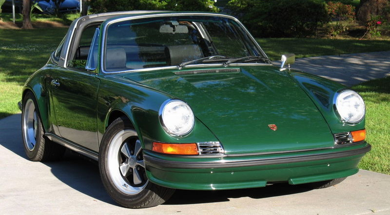 For Sale 1968 Porsche 911 Soft Window Targa Pelican