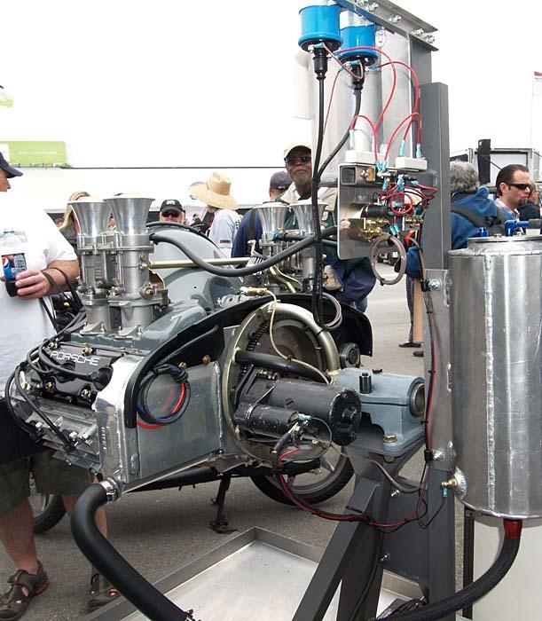Porsche 911 Engine Test Stand