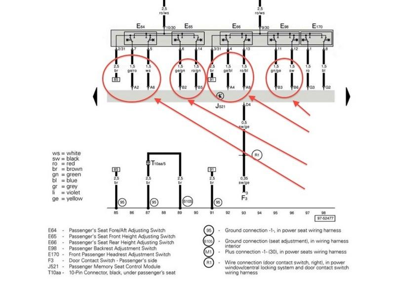 proj 1 gently owned 02 996 turbo donor black seats transplant to rh forums pelicanparts com porsche 996 seat wiring porsche 996 seat wiring diagram