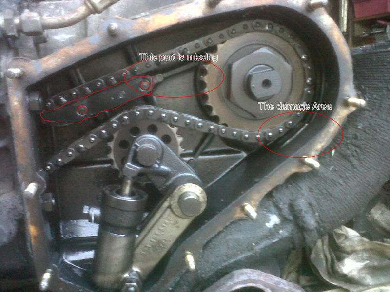 How A Plastic Chain Ramp Can Ruin Your Engine Pelican