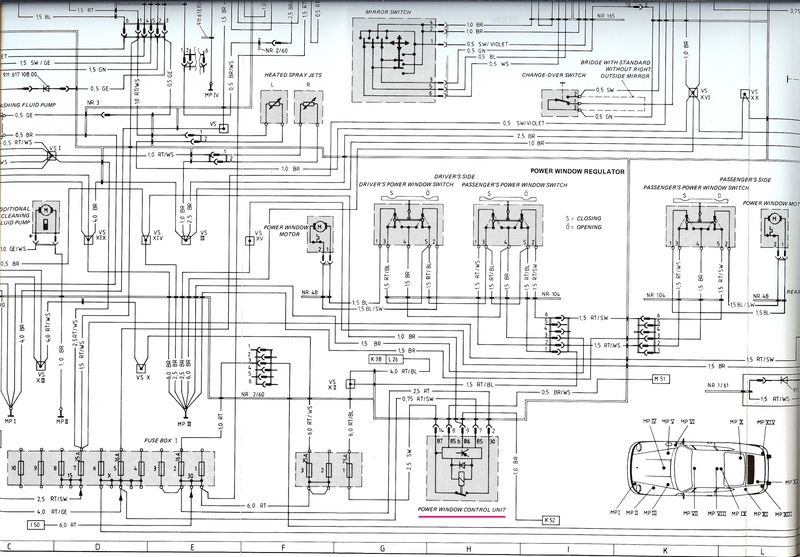 1967 porsche 911 wiring diagram | wiring diagram 1983 porsche 911 wiring diagram #13