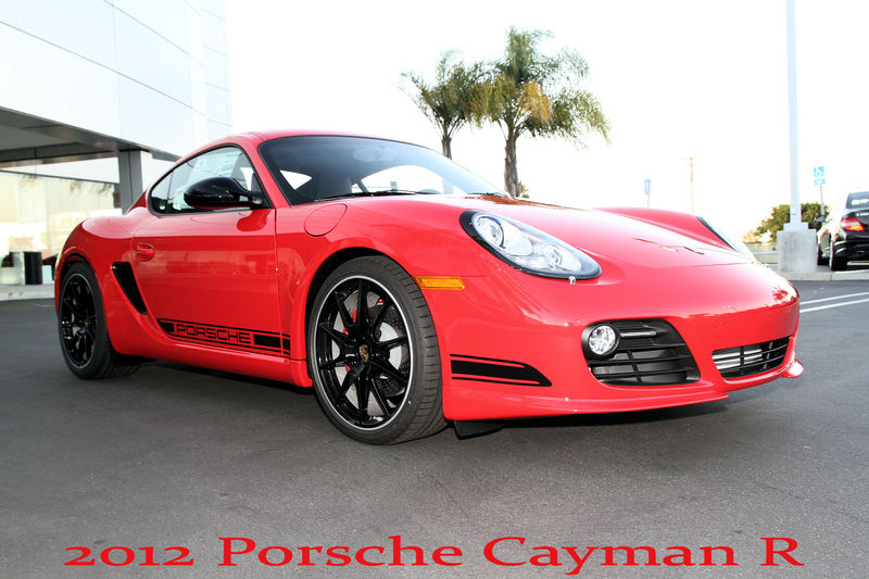 2012 Porsche Cayman R With Pdk And Sport Chrono Package