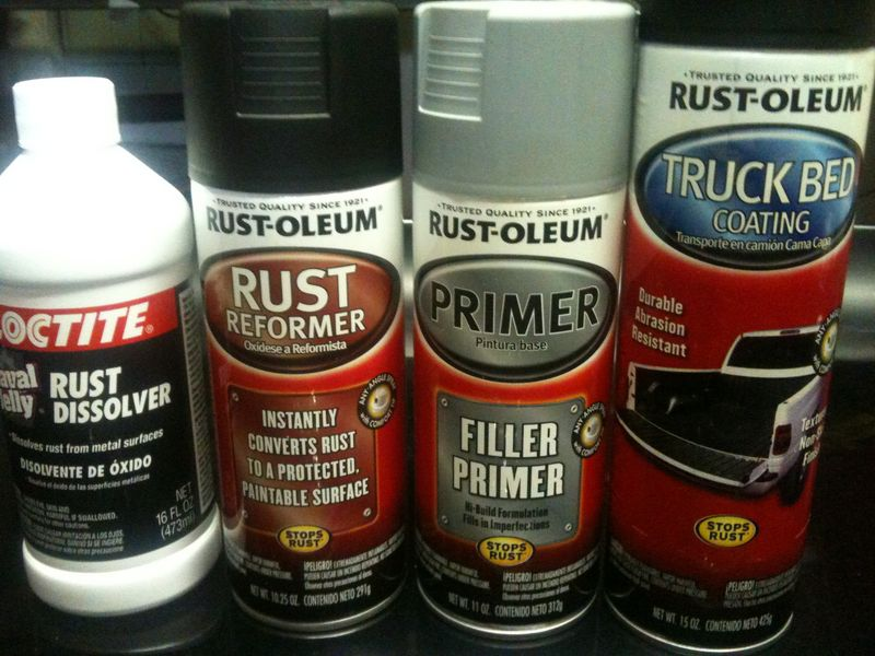 Rust Remover And Cover For Cars