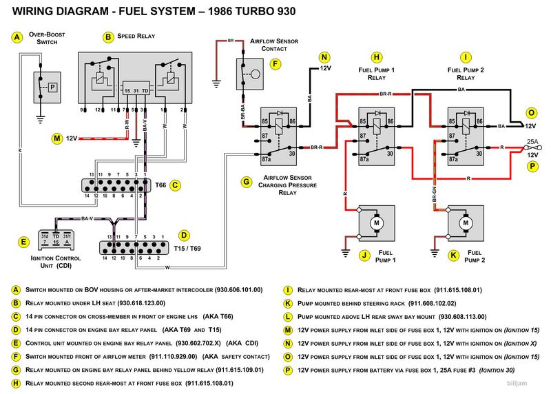 crazy fuel pump wiring? - pelican parts technical bbs wiring diagram for 1985 porsche 911 1985 porsche 911 wiring fuel pump