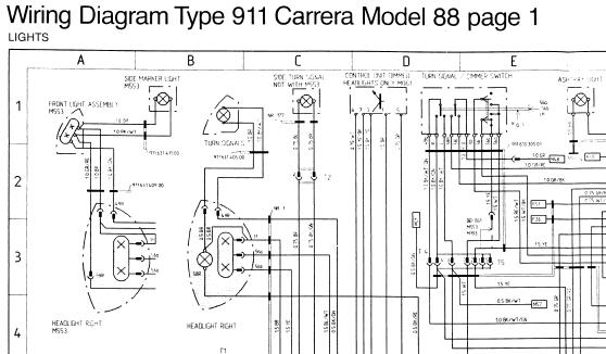 1988 911 Wiring Diagrams       - Page 2