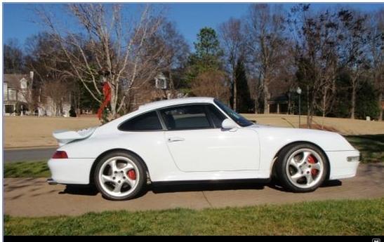 1997 Porsche 993 Twin Turbo Glacier White Cashmere 6 Speed