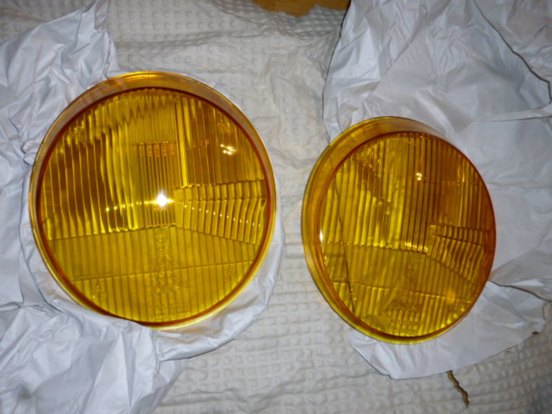 how to clean yellow headlight lenses