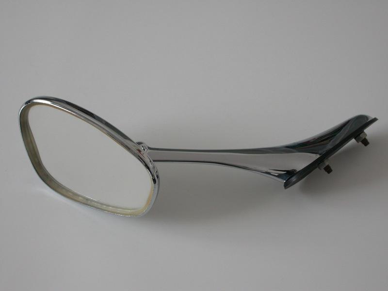 Fs Vintage Nos Albert Swan Neck Mirror To Fit Porsche