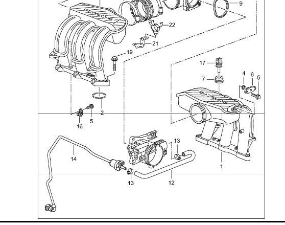 2003 porsche boxster change gas tank vent line