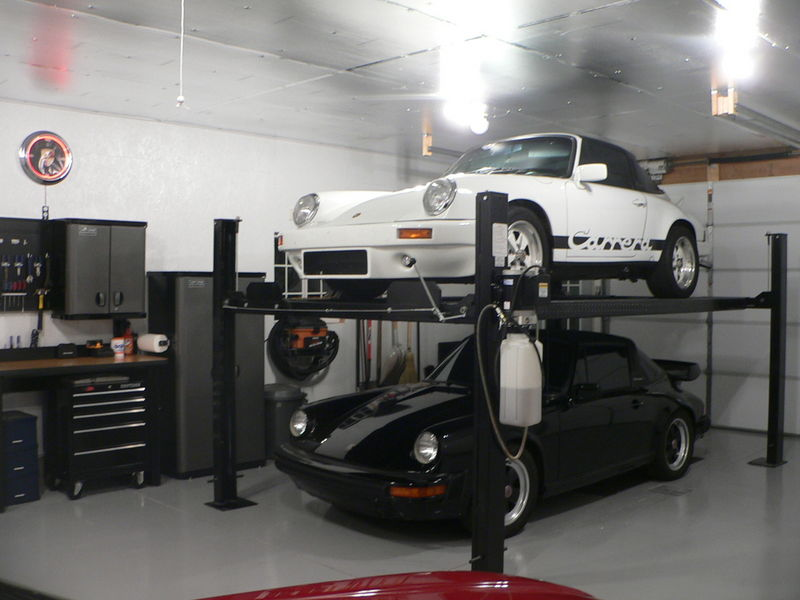 garage height for lift