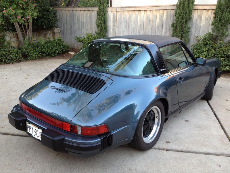 For Sale 1987 Porsche 911 Targa Pelican Parts Forums