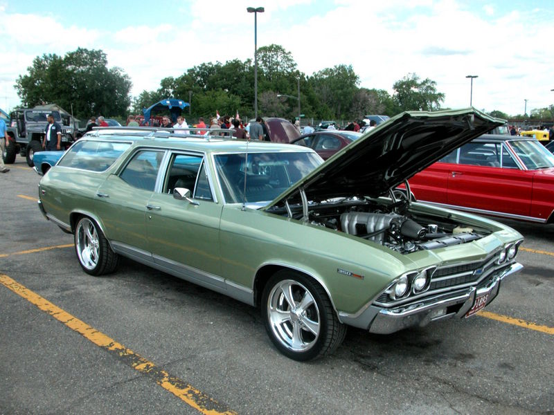 1967 Chevrolet Chevelle Station Wagon For Sale On ...