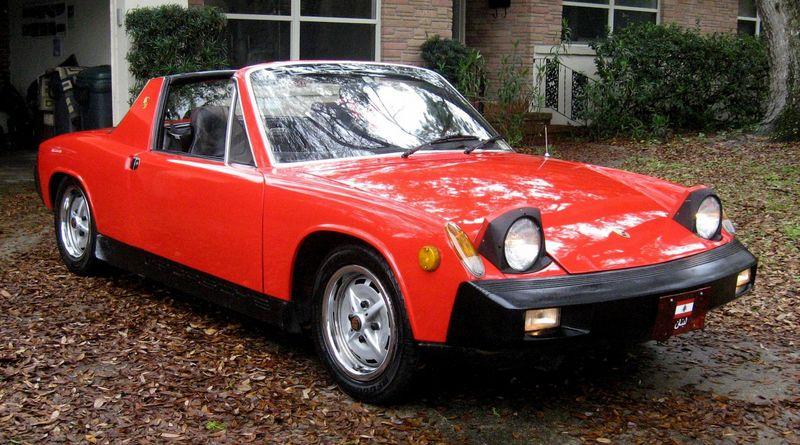 Cars For Sale In Jacksonville Fl >> 1975 porsche 914 - all original, all options, oem rebuilt ...
