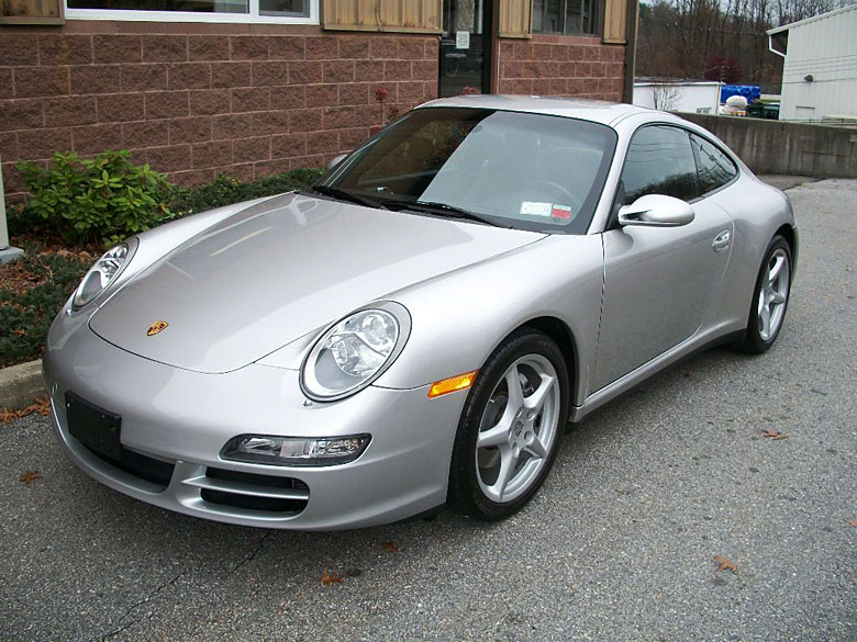 silver 2006 porsche 911 carrera 4 coupe 56k miles. Black Bedroom Furniture Sets. Home Design Ideas