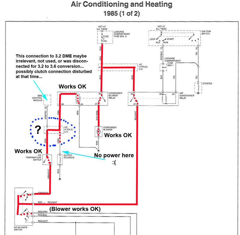 Help AC system wiring anyone know where this 4wire junction – K1200rs Wiring Diagram