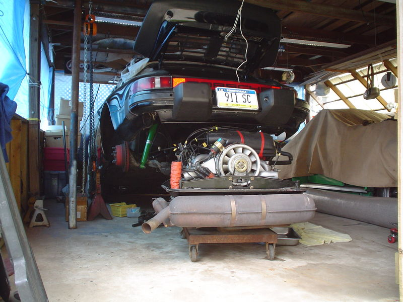 Easiest Engine Install Method Ever If You Got A Lift