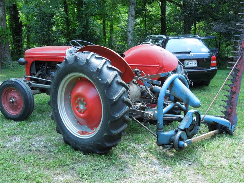 Ford Tractor Model 501 : Ford sickle mower