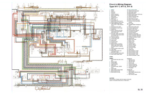 early wiring diagram - download here - pelican parts forums porsche 911 wiring diagram porsche 911 wiring diagram download