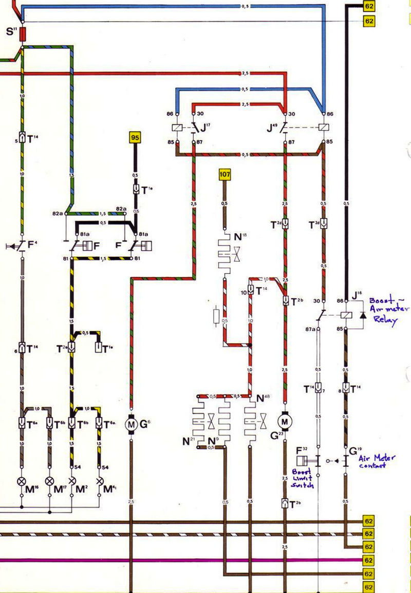 1986 930 Fuel Pump Wire Diagram - Pelican Parts Forums