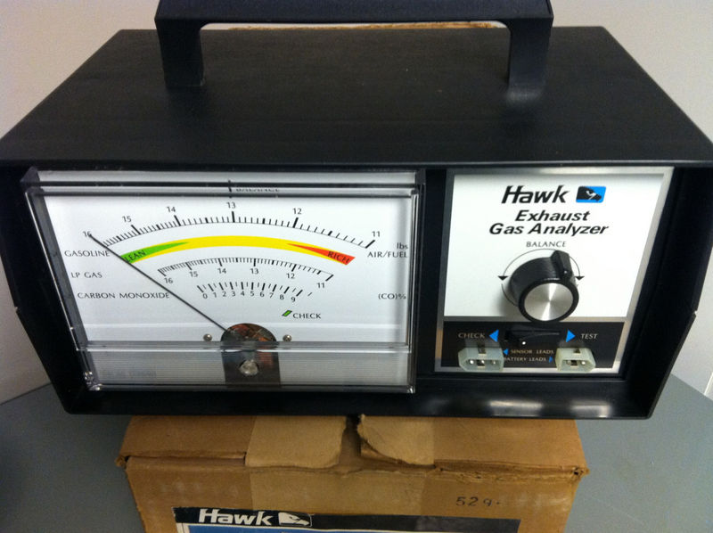 Anyone Know How To Use A Hawk Exhaust Analyzer Pelican