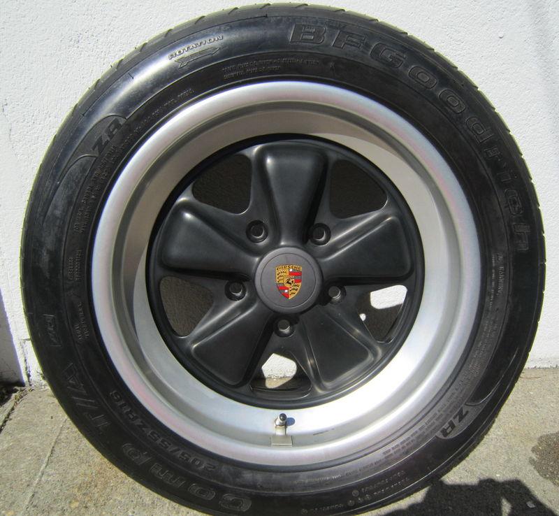 Used Porsche 911 Turbo Near Me: Porsche 930 Wheels And Tires Set Of 4