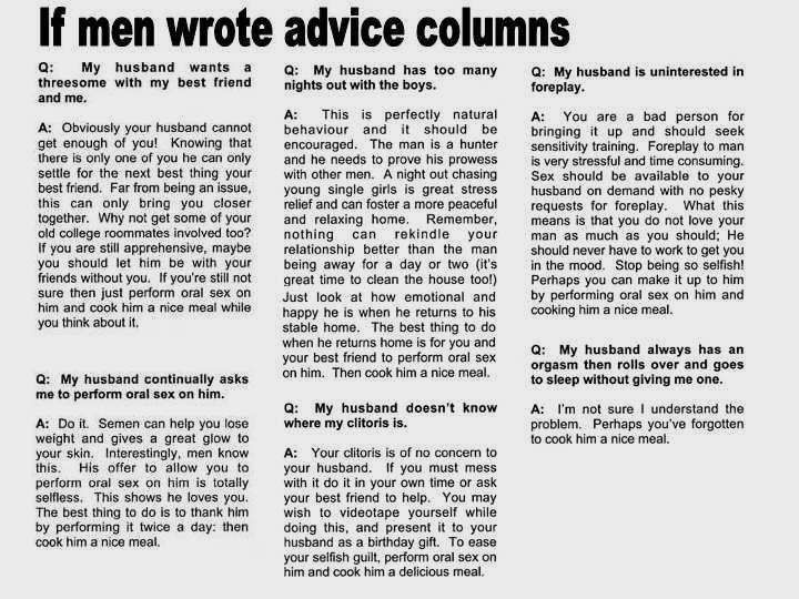 forum mens advice