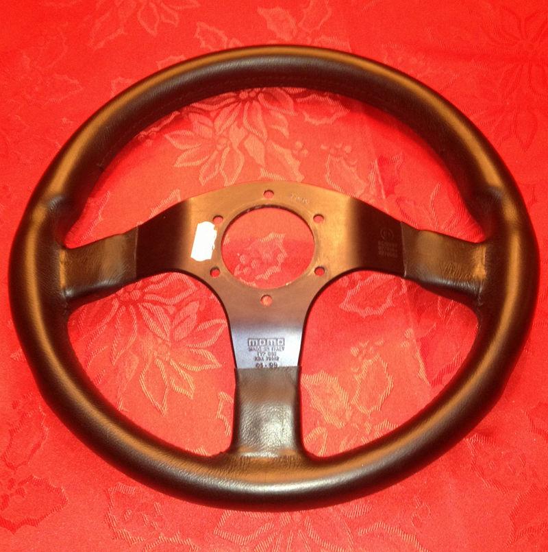 FS: Leather Momo Corse Steering Wheel