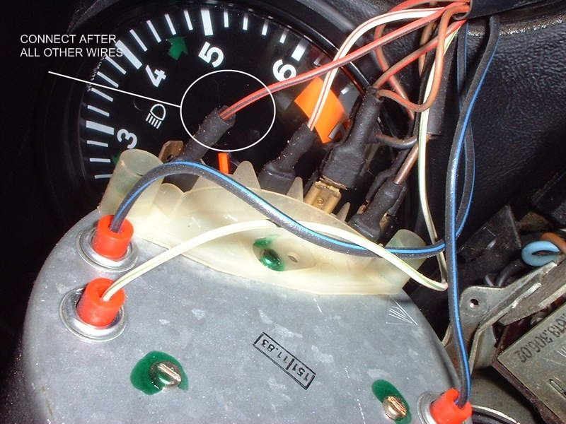 1984 porsche 911 pictures wiring in dash 1982 911 sc targa speedo - pelican parts technical bbs porsche 911 sc wiring diagram