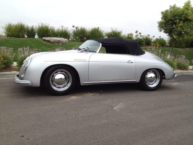 1957 Porsche 356 Speedster Replica Pelican Parts