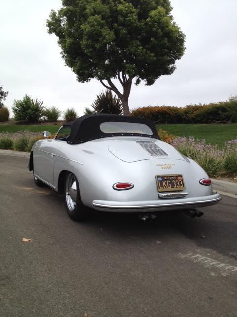 1957 Porsche 356 Speedster Replica Pelican Parts