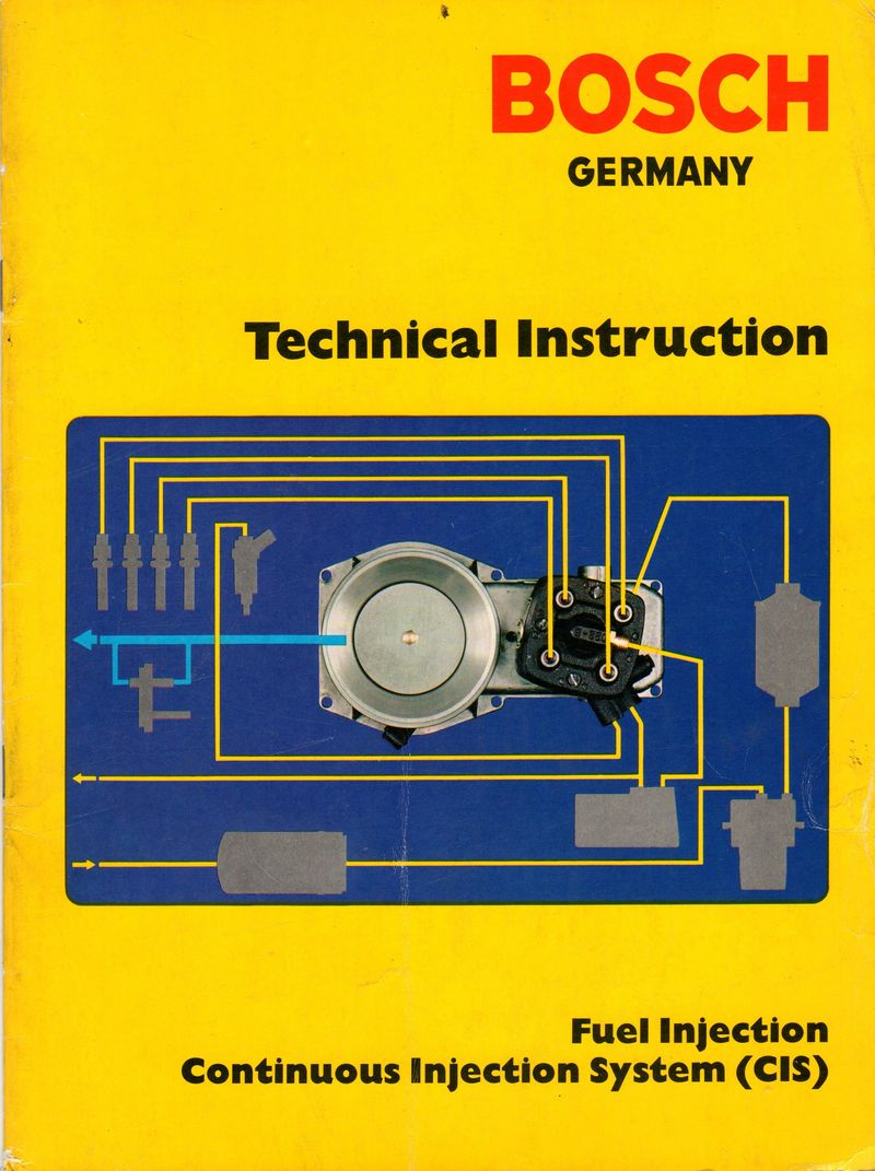 bosch fuel injection technical manuals motronic l jetronic and cis rh  forums pelicanparts com K-Jetronic Fuel Injection K- Jetronic