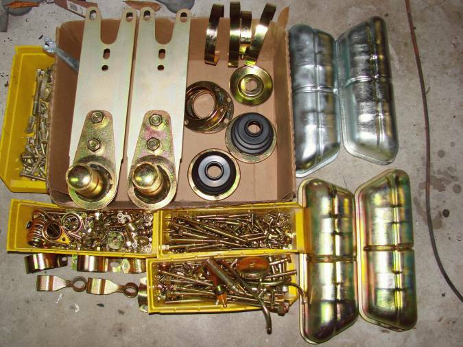 Home Zinc Plating before and after - Pelican Parts Forums