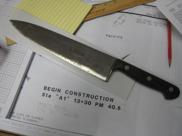 I Got A Vintage Kitchen Knife Anyone Know About It Pelican Parts Forums