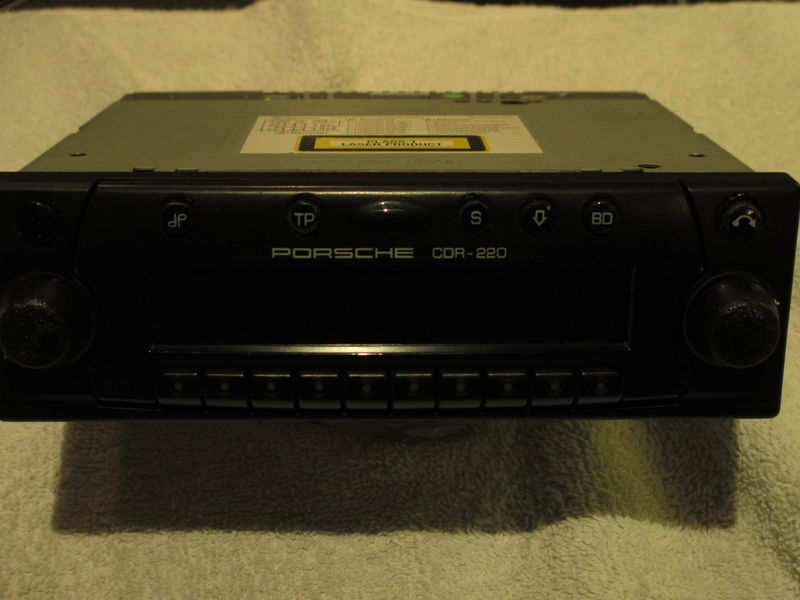 Becker cdr-220 radio/ cd stereo - Pelican Parts Forums