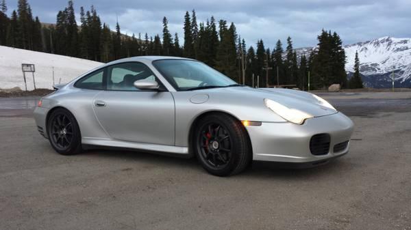 2003 Porsche 911 996 C4s Silv Blk 38k Mi Pelican