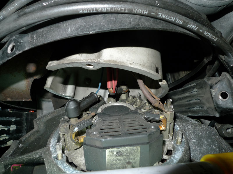 porsche 930 alternator wiring circuit diagram symbols u2022 rh armkandy co 2004 Ford Focus Alternator Wiring Delco Alternator Wiring