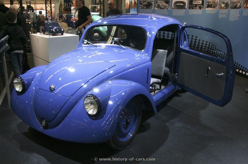 1936 Volkswagen Porsche Typ 60 (VW V3) - Pelican Parts Technical BBS