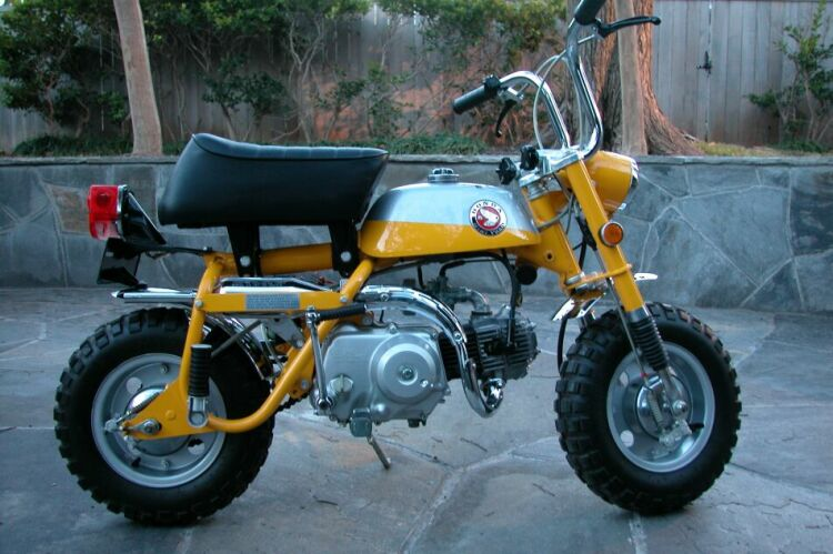 Honda Parts Cheap >> Another x-mas project for dad.... Honda Z50 - Pelican ...