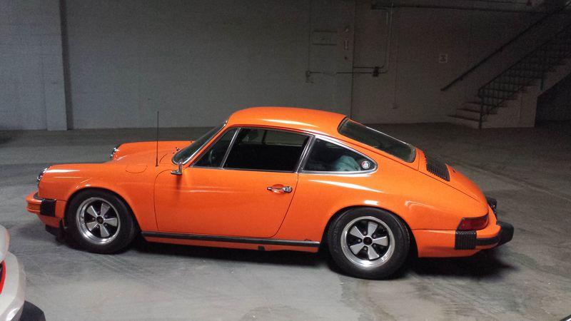 Orange 1974 Porsche 911 Pelican Parts Forums