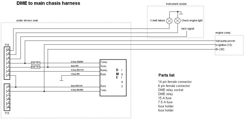 3.2 motronic wiring harness diagram - pelican parts forums porsche 911 3 2 wiring diagram  the pelican parts forum!