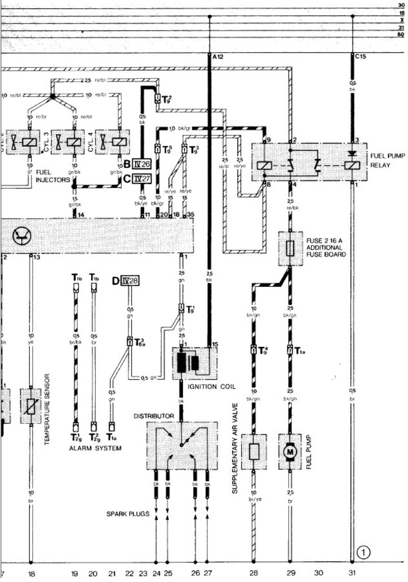 ... diagram), this was replaced by the DME relay in the later cars, but is  basically serves the same purpose. It switches on the fuel pump and the DME  unit.