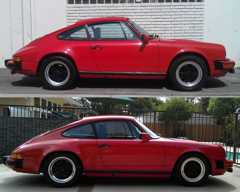 Chevy Truck Parts Online Lowered Porsche 911 My before and after lowering