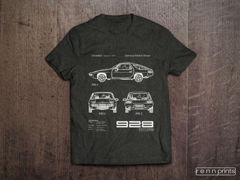 New 928 T Shirt Designs Pelican Parts Technical Bbs
