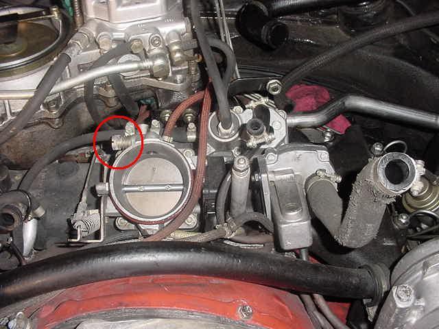 Idle Adjustment Pelican Parts Technical Bbs