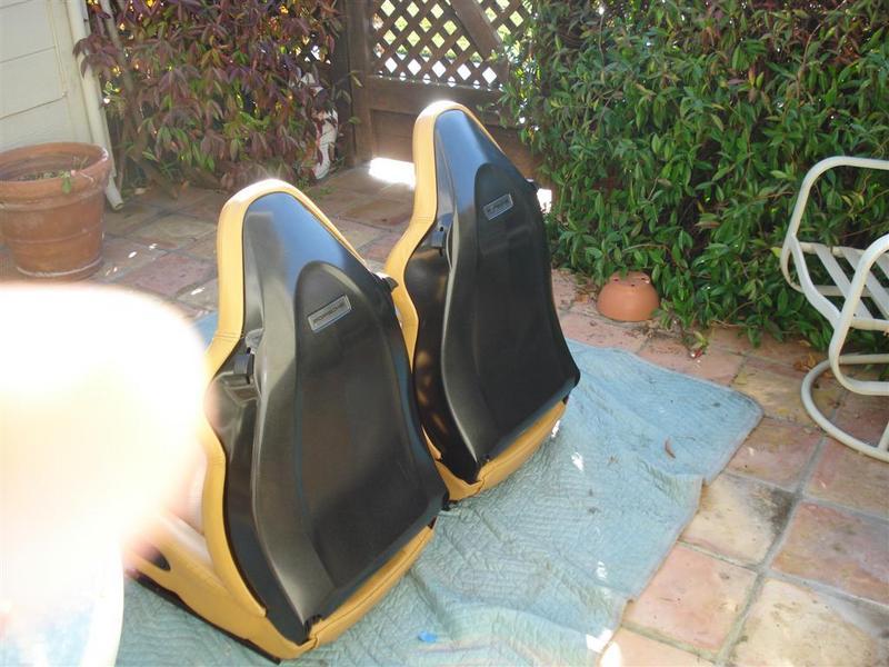 993 Original Near Perfect Hard Back Sport Seats Heated