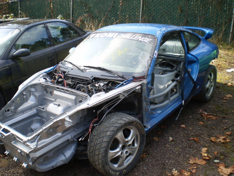 2001 996 911 Race Car Rolling Chassis Located In Seattle