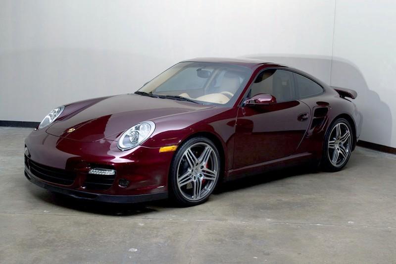 2007 Porsche 997 Turbo Tiptronic Carmon Red Sand