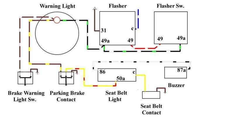 my flasher relay is the clicking sound but no lights are blinking on the dash or outside