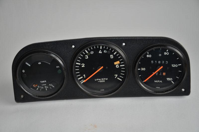 Fs Porsche 914 Center Console Amp Dashboard Gauge Clusters